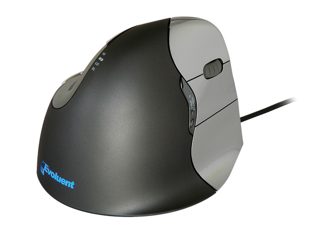VM4R EVOLUENT VERTICAL MOUSE RIGHT Evoluent4 6buttons/scrollwheel/cable 1