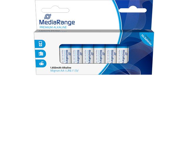 MEDIARANGE MIGNON BATTERIEN 10er PACK MRBAT105 LR06 Alkaline AA 1,5V 1