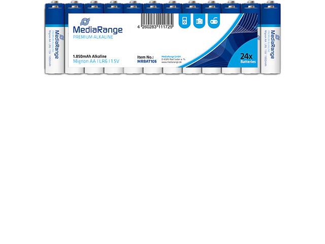 MEDIARANGE MIGNON BATTERIEN 24er PACK MRBAT106 LR06 Alkaline AA 1,5V 1
