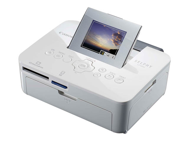 CANON SELPHY CP1000 PHOTO PRINTER WHITE 0011C012 300x300dpi 1