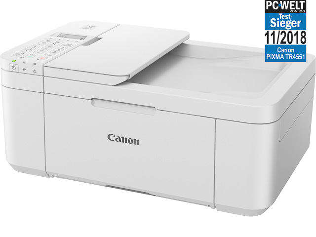 CANON PIXMA TR4551 4IN1 TINTENSTRAHL 2984C029 A4/Farbe weiß 1