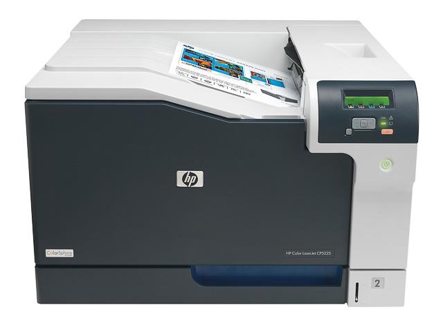 HP CLJ CP5225N FARBLASERDRUCKER CE711A#B19 A3/Farbe 1