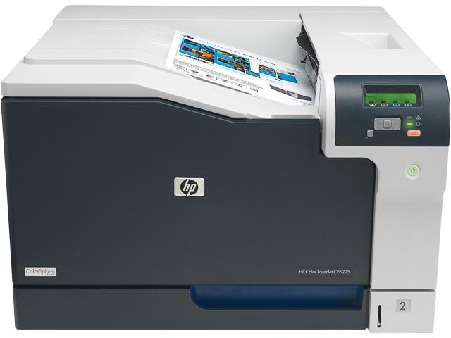 HP CLJ CP5225DN FARBLASERDRUCKER CE712A#B19 A3/Duplex/LAN/Farbe 1