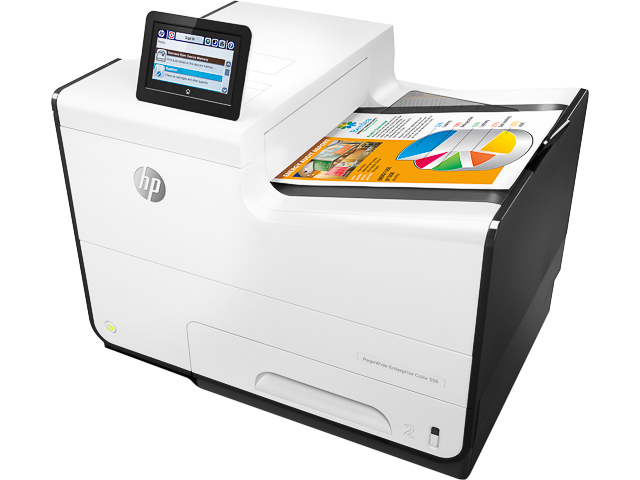 HP PW 556DN TINTENSTRAHLDRUCKER G1W46A#B19 A4/Duplex/LAN/Farbe 1