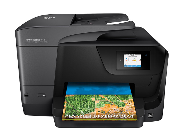 HP OJ PRO 8710E 4IN1 INKJET PRINTER D9L18A#A80 A4/LAN/multifunction/color 1