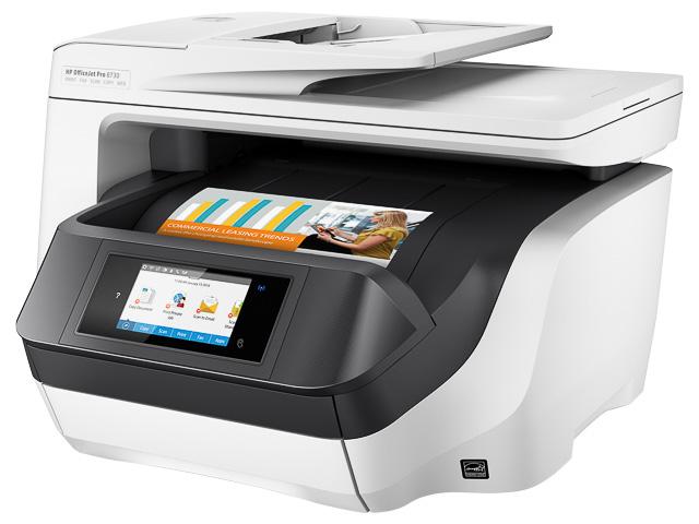 HP OJ PRO 8730 4IN1 TINTENSTRAHLDRUCKER D9L20A#A80 A4/WLAN/Multi/Farbe 1