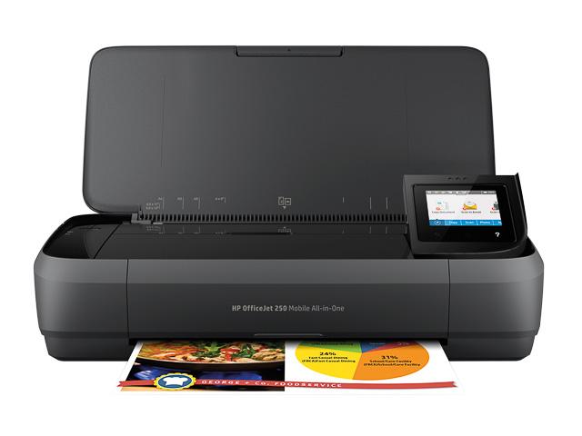 HP OJ 250 3IN1 INKJET PRINTER CZ992A#BHC A4/multi/color/mobile 1