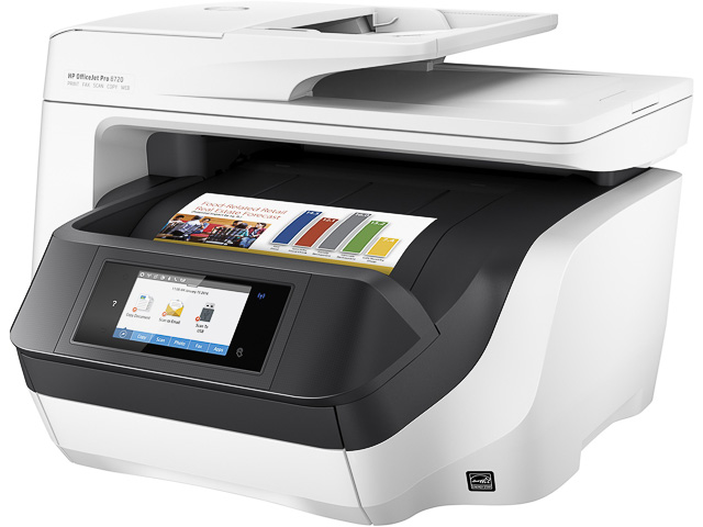 HP OJ PRO 8720 4IN1 TINTENSTRAHL B-WARE D9L19A#A80 A4/WLAN/Multi/Farbe 1