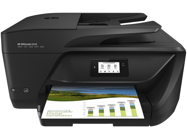 HP OJ 6950 4IN1 INKJET PRINTER P4C85A#BHC A4/WLAN/multi/color 1