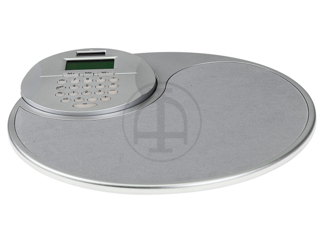 MOUSEPAD INCLUSIVE CALCULATOR GREY  1