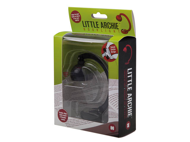 LITTLE ARCHIE BOOKLIGHT BLACK without swivel switch 1