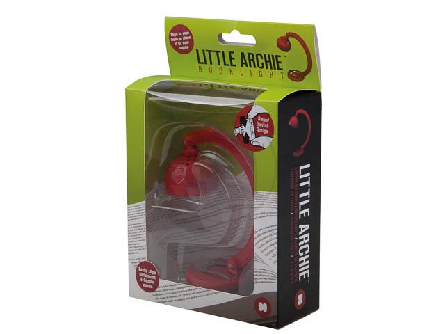 LITTLE ARCHIE BUCHLAMPE ROT mit Drehschalter 1
