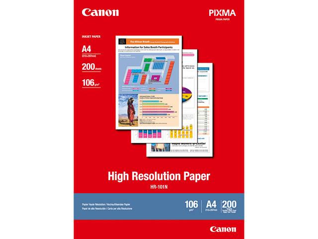 HR101N CANON PAPIER A4 1033A001 200Blatt 106gr 1