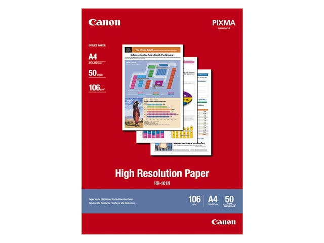 HR101N CANON PAPER A4 1033A002 50sheets 106gr high definition 1