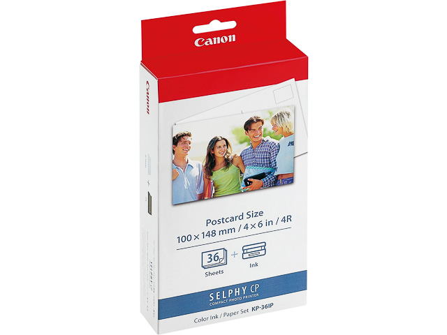 KP36IP CANON PHOTO PAPER + TTR 10x15cm 7737A001 36sheets glossy 1