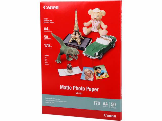 MP101 CANON FOTOPAPIER A4 7981A005 50Blatt 170gr matt 1