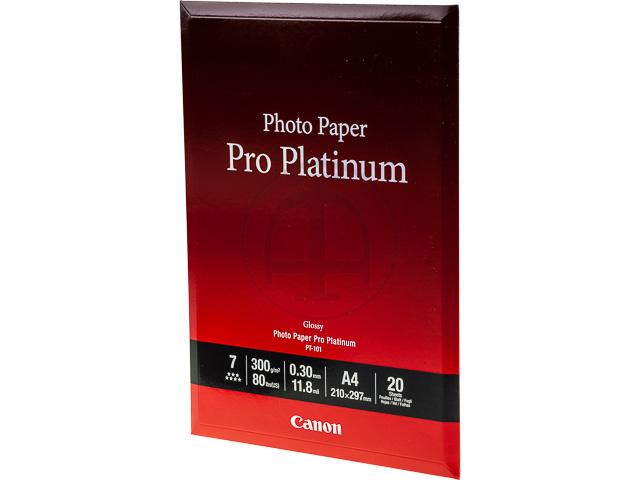 PT101 CANON PHOTO PAPER A4 2768B016 20sheets 300gr 1