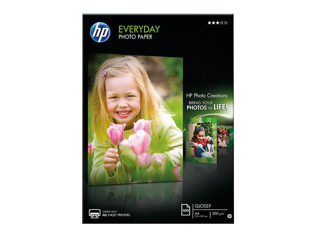 Q2510A HP PHOTO PAPER A4 100sheets 200gr glossy 1