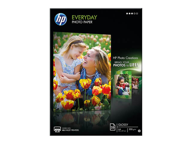Q5451A HP PHOTO PAPER A4 25sheets 200gr glossy 1