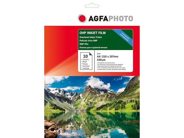 AP10A4OHPINK AP INKJET FILM A4 10sheets 100µm OHP cardboard box 1