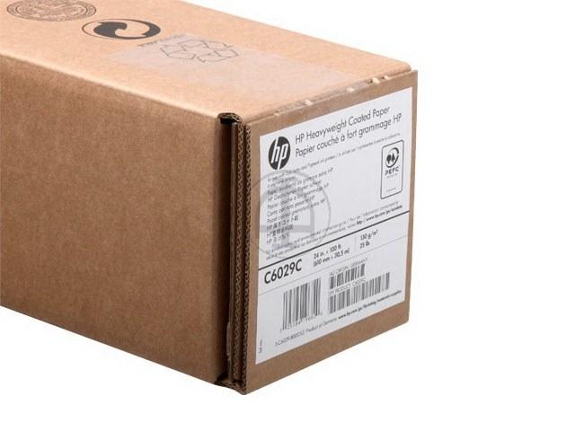 """C6029C HP BESCHICHTETE PAPIERROLLE 24"""" 610mmx30,5m 130gr 1"""