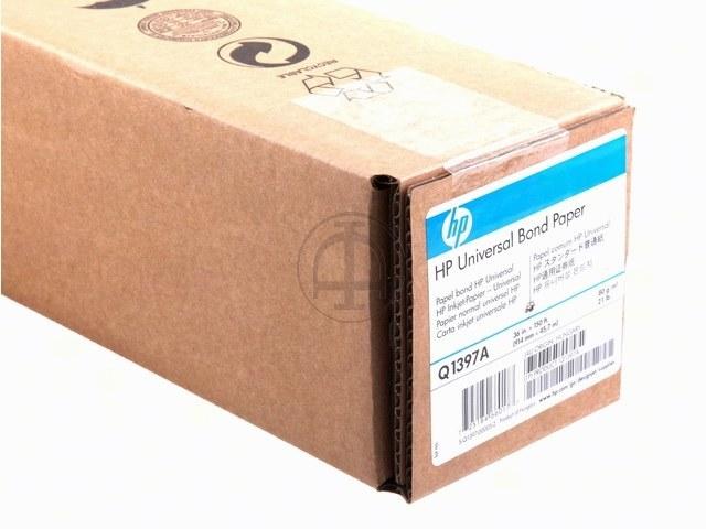 """Q1397A HP INKJET PAPIER 36"""" 914mmx45,7m 80gr 1"""