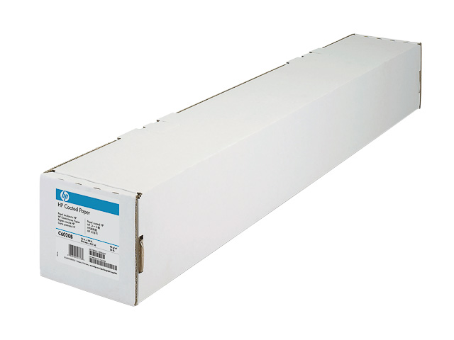 "C6567B HP COATED PAPER ROLL 42"" 1067mmx45,7m 90gr 1"