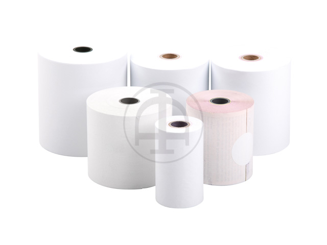 RECEIPT ROLL 76x70x12mm WHITE length approximately 50m 1