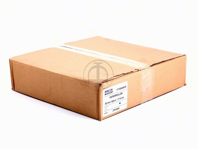 01770008605 WINCOR RECEIPT ROLL 82x180x18mm 1