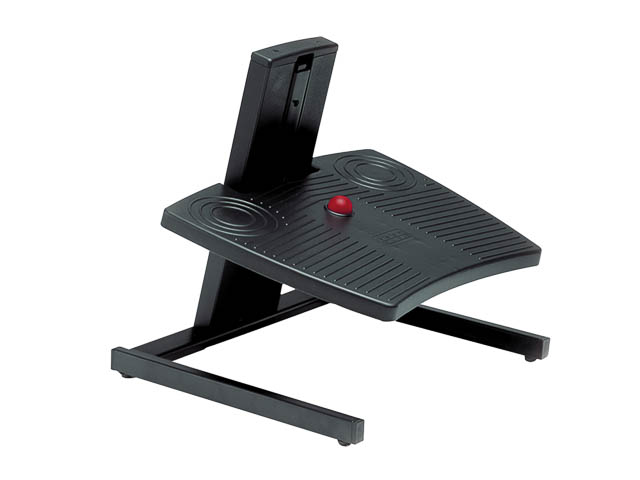 BNEFFD BAKKER FOOTREST DUAL BLACK adjustable range 4-30cm 1