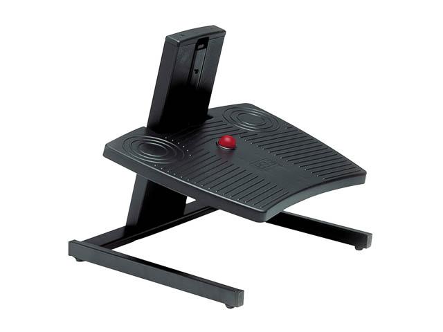 BNEFFSL BAKKER FOOTREST BLACK adjustable range 3-19cm 1