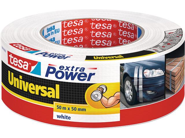 TESA EXTRA POWER REPARATURBAND WEISS 56389-00002-06 50mx50mm 1