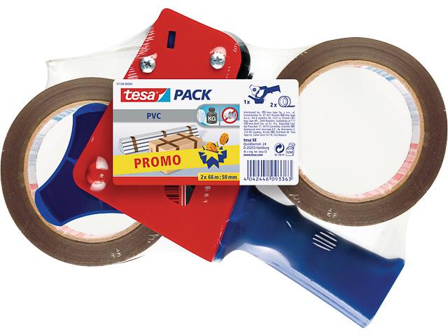 TESAPACK PACKBAND-ABROLLER ULTRA STRONG 57108-00000-01 66mx50mm inkl 2Rollen 1