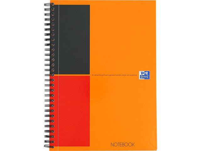 OXFORD NOTEBOOK TABLET B5 ORANGE 400080785 80Blatt 80gr liniert 6mm 1