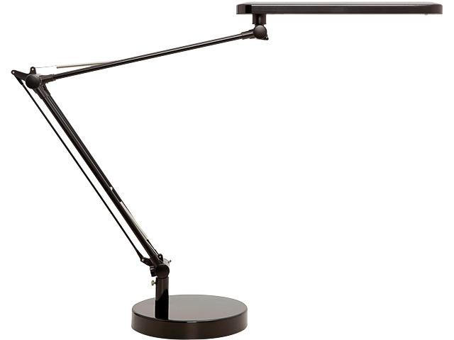 400140801 UNILUX TISCHLEUCHTE MAMBO LED Standfuss u. Tischklemme dimmbar schwarz 1