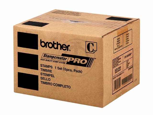 PR1850B6P BROTHER SC2000 STEMPEL SCHWARZ 18x50mm 1