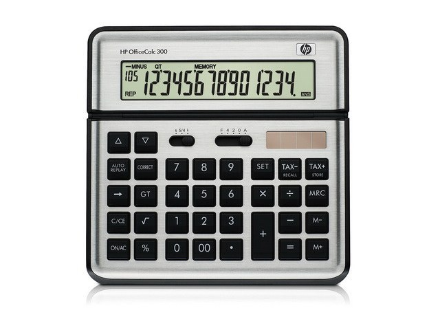 F2238AA#AK9 HP OFFICE CALCULATOR 300 german/english/italian/french 1