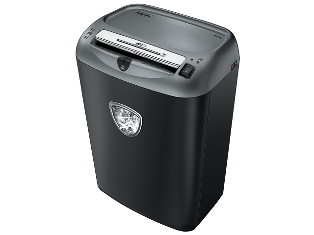FELLOWES 75CS SHREDDER BLACK 4675001 cross cut 4x38mm P4 12pages 1