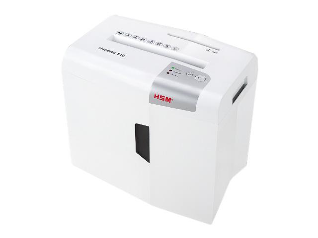 HSM SHREDSTAR S10 SHREDDER WHITE 1042121 stripe cut 6mm P2 10pages 1