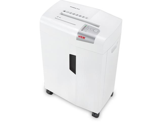 HSM SHREDSTAR X13 SHREDDER WHITE 1057121 cross cut 4x37mm P4 13pages 1